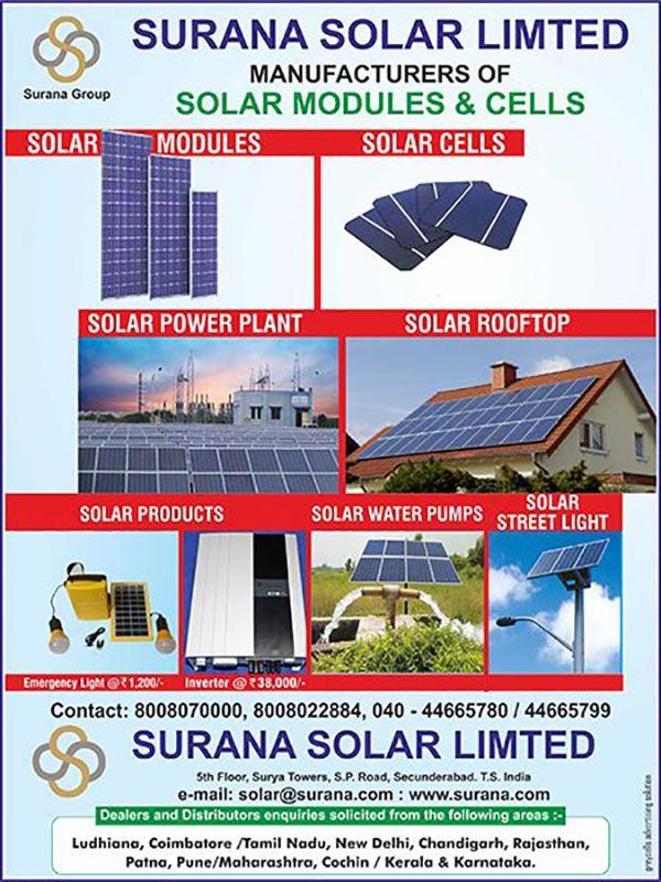 C-679 - Surana Solar Ltd  | Indian Business Pages (IBP)